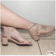 Sandália Beira Rio Conforto Verniz Feminina - 824637613488