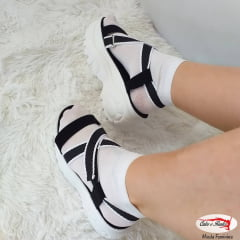 Sandália Zatz Papete Flatform Chuncky Feminina - Z380520003