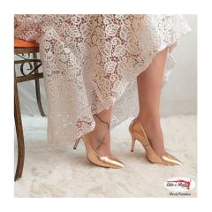 Sapato Vizzano Luxo Festa Metalizado Premium Feminino - 1184110114710