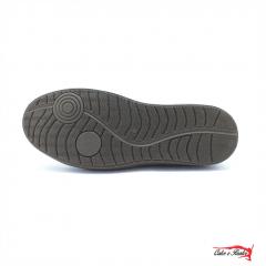 Sapatenis Mega Boots Masculino Couro Ziper Lateral - 16010