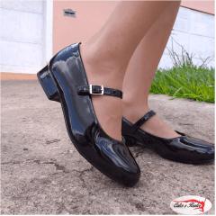 Sapato Molekinha Infanto Juvenil Social Feminino - 252810113488
